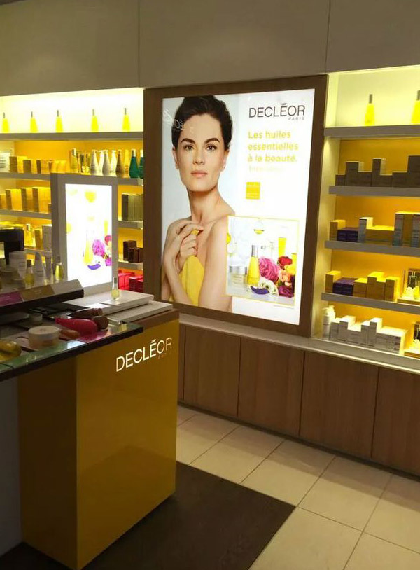 Decleor Cosmetics counter