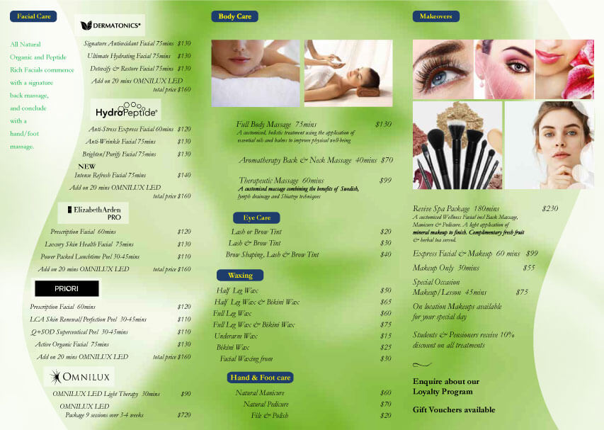 Services Brochure